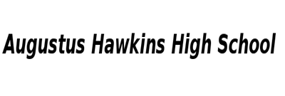 Augustus Hawkins High School  Logo